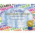 Hayes Spelling Achievement Certificate, 30 Per Pack, 6 Packs