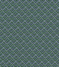 Quilter\u0027s Showcase Cotton Fabric 44\u0022-Green Navy Geometrics Blender
