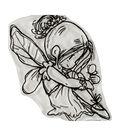 Dreamerland Crafts 2.75\u0027\u0027x2.75\u0027\u0027 Clear Stamp-Fairy