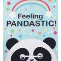 No Sew Fleece Throw-Pandatastic