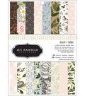 American Crafts Single-Sided Paper Pad 6\u0022X8\u0022 24/Pkg-Heart Of Home