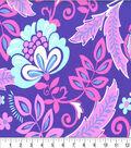 Keepsake Calico Cotton Fabric-Amazon Periwinkle