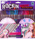 Iris Friendship Bracelet Craft Thread Party Pack Kit-Rockin