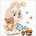 RIOLIS Counted Cross Stitch Kit 6\u0022X6\u0022-Little Garden