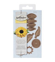 Spellbinders Shapeabilities Die D-Lites-Create A Sunflower, , hi-res
