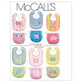 McCall\u0027s Pattern M6108 Bibs & Diaper Covers