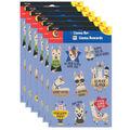Creative Teaching Press Bold Bright Llama Reward Stickers 6 Packs