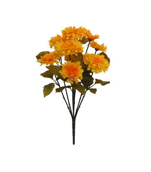 Blooming Autumn Water Resistant Marigold Bush-Yellow