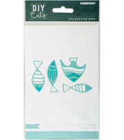 Kaisercraft DIY Cuts 4 pk Decorative Dies-School of Fish, , hi-res