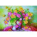 Diamond Dotz Diamond Embroidery Art Kit 29.5\u0027\u0027X21.75\u0027\u0027-Elegant Rose