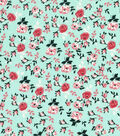 Keepsake Calico Cotton Fabric -Packed Floral Mint