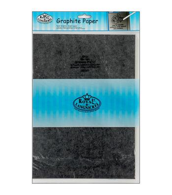 "Royal Brush 9""x13"" Graphite Paper-20PK/Grey"