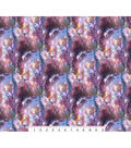 Novelty Cotton Photo Real Fabric -Bright Space