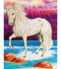 Diamond Embroidery Facet Art Kit 26.5\u0022X22.5\u0022-Magical Unicorn