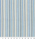 Home Decor 8\u0022x8\u0022 Fabric Swatch-Waverly Rustic Stripe Marine