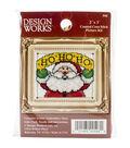 Design Works HO HO HO Ornament Counted Cross Stitch Kit