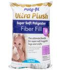 Poly-Fil Supreme Ultra Plush Fiber Fill 8 ounce Bag