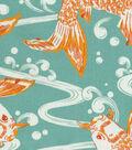 Waverly Outdoor Decor Fabric 54\u0022-Kool Koi Tropics