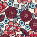 Home Essentials Lightweight Decor Fabric 45\u0022-Garden Pink & Blue