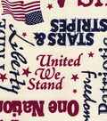 Patriotic Fabric-Old Glory Parchment