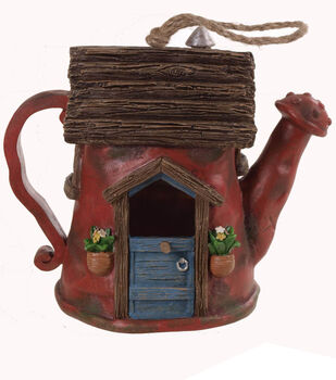 In the Garden Watering Can Bird House