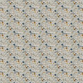 Super Snuggle Flannel Fabric-Lodge Campers on Gray