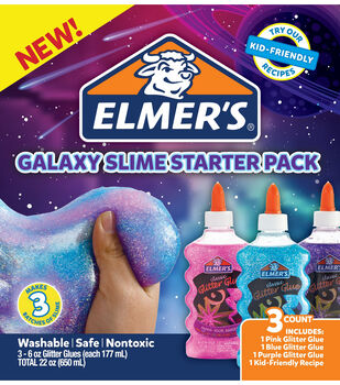 Elmer's Galaxy Slime Starter Pack