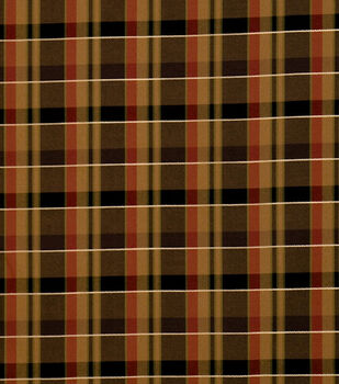 "Jaclyn Smith Multi-Purpose Decor Fabric 54""-Regency /Caramel"