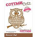 CottageCutz Elites Die Harvest Owl