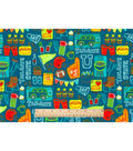 Snuggle Flannel Fabric -Tailgate State