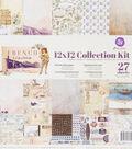 Prima Marketing French Riviera 12\u0027\u0027x12\u0027\u0027 Collection Kit