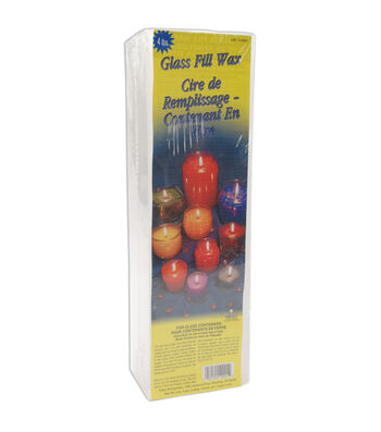 Glass Fill Candle Wax 4lb Block-