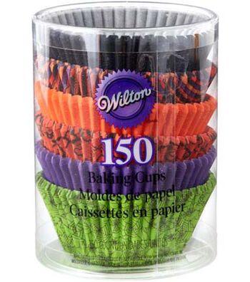 Wilton Halloween 150 pk 2'' Baking Cups-Multi