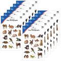 Carson Dellosa Pets Photographic Stickers 12 Packs