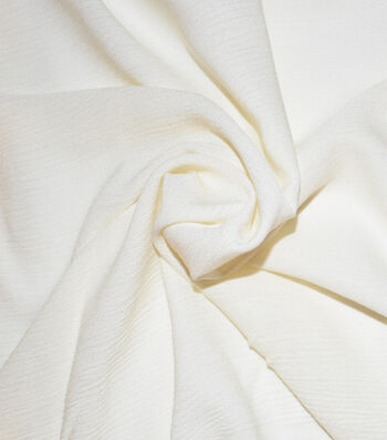 Silky Gauze Fabric -Cream