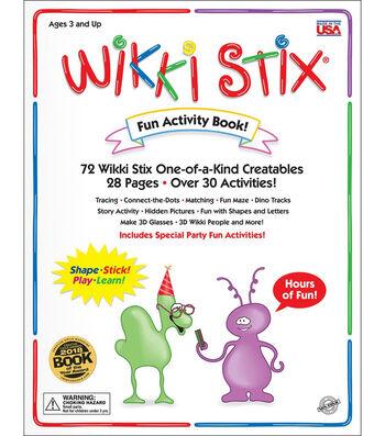 Wikki Stix Activity Book