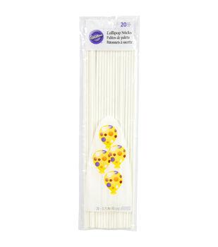 Wilton 11-3/4'' Lollipop Sticks-20PK
