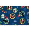 Christmas Cotton Fabric -Polar Express All Aboard