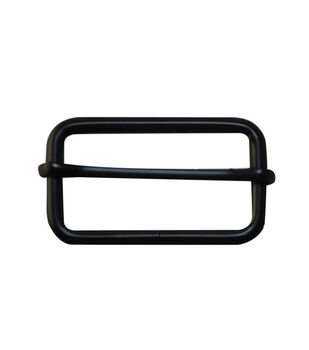 """Everything Mary Black 1.75"""" Rectangle Buckles-2pk"""