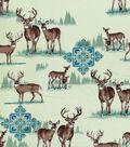 Novelty Cotton Fabric-Deer
