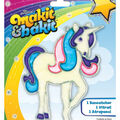 Colorbok Makit&Bakit Suncatcher Kit-Glitter Unicorn