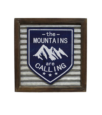 Camp Ann Wall Decor-The Mountains are Calling