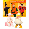 Simplicity Pattern 2788A Toddler Costumes-Size 1/2-1-2-3