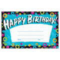 Trend Enterprises Inc. Color Harmony Birthday Recognition Award, 30/Pack