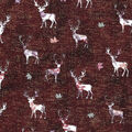 Harvest Cotton Fabric 43\u0022-Trapped Stags