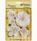 Botanica Sparkling Glitter Magnolia Mix 1.2\u0022 To 2.7\u0022-White
