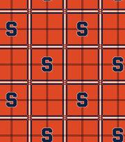 "Syracuse University Orange Flannel Fabric 42""-Plaid, , hi-res"