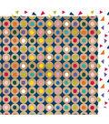 American Crafts Box of Crayons 25 pk 12\u0027\u0027x12\u0027\u0027 Cardstock-Fall in Line