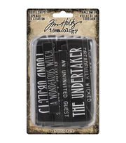 Idea-Ology Chipboard Quote Chips 49/Pkg-Halloween, Words & Phrases, , hi-res