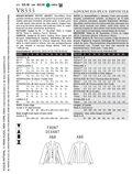 Vogue Patterns Misses Jacket-V8333